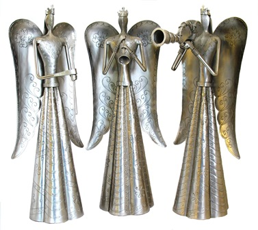 3 P.c Set Musical Angels