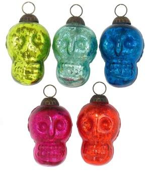 """3"""" Skull Ornament"""