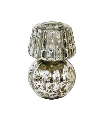Antique Melon Tealight Candlestick