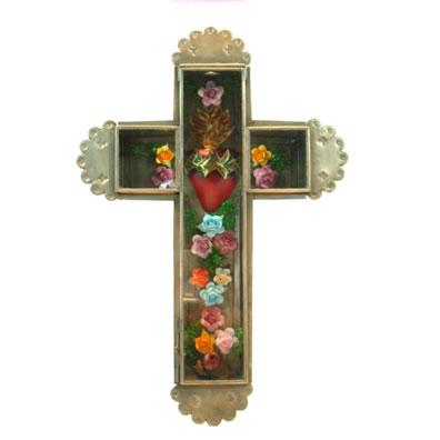 Cobre Sacred Heart & RosesCross
