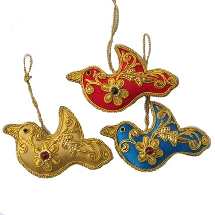 Bird Ornament Assorted