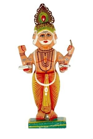 Brahmaji Standing Figure