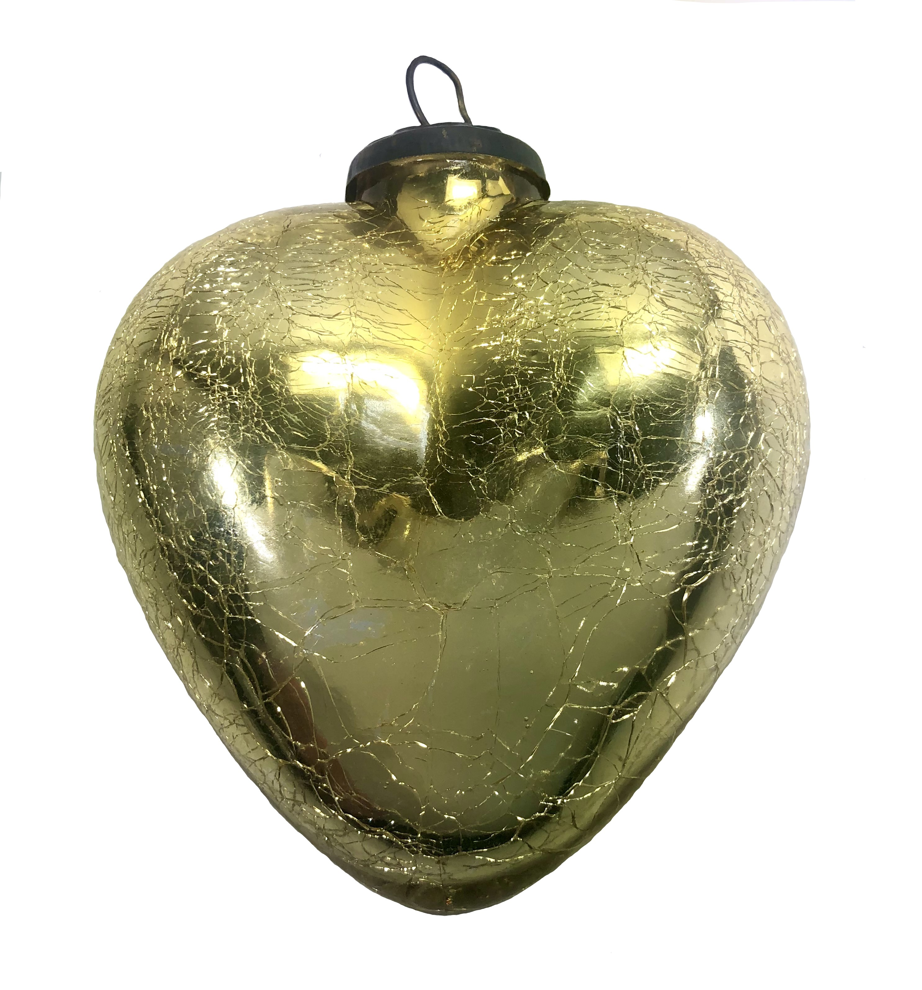 Champagne Gold Heart
