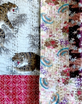 Chinese Tiger Rali Throw