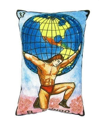 El Mundo Loteria Pillow