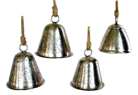 Engraved Brass Bell