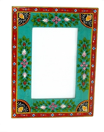 Folk Art Painted Frame