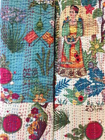 Frida Garden Rali Quilt