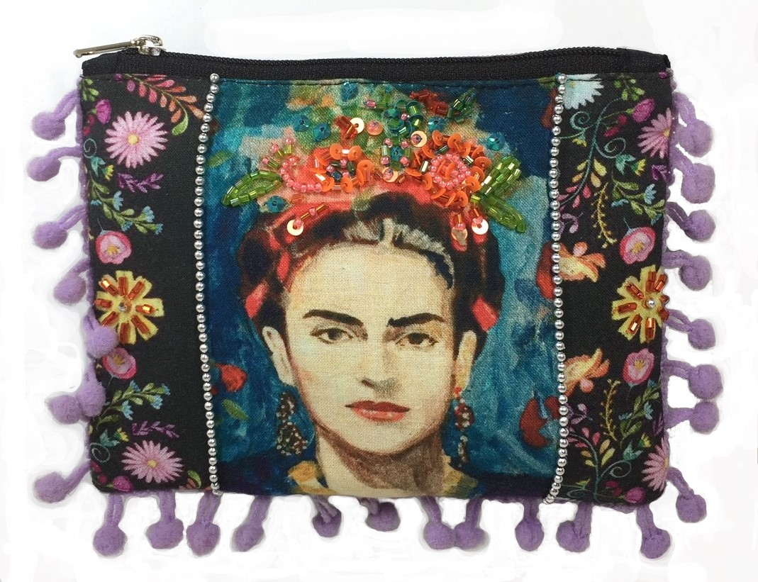 Frida Bag with Poms