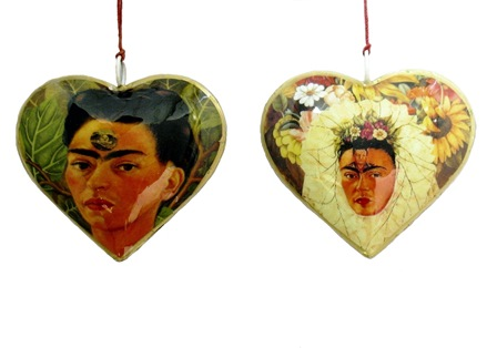 Frida Photo Heart Ornament