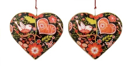 Garden Heart Ornament
