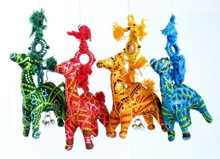 Kalbeliya Camel Ornament
