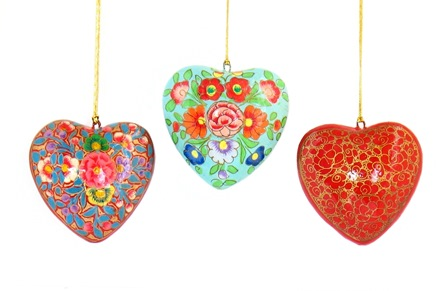 Kashmir Heart Ornament