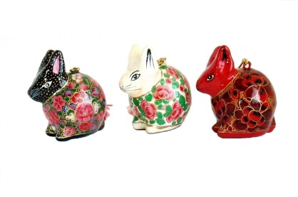 Kashmir Rabbit Ornament