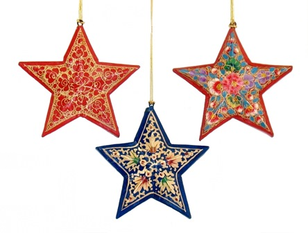 Kashmir Star Ornament