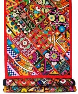Kutch Embroidery Runner