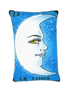 La Luna Loteria Pillow