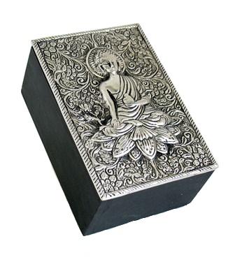 Lotus Buddha Box
