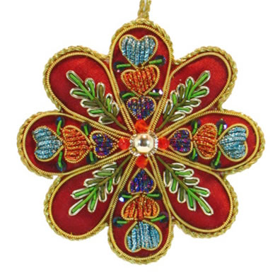 "3.5""Medallion Ornament"
