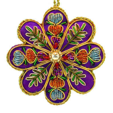 "3.5"" Medallion Ornament"