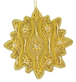 "4"" Medallion Ornament"