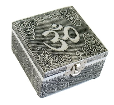 Metal Embossed Box-Ohm