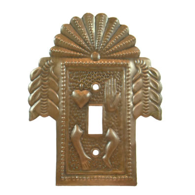 Copper Milagro Switchplate