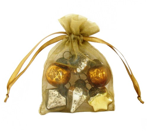 Mini Antique Glass Ornament Gift Set