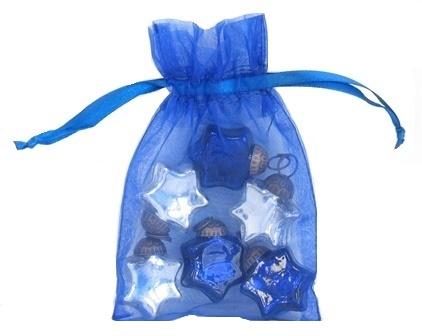 Mini Glass Star Ornament Gift Set