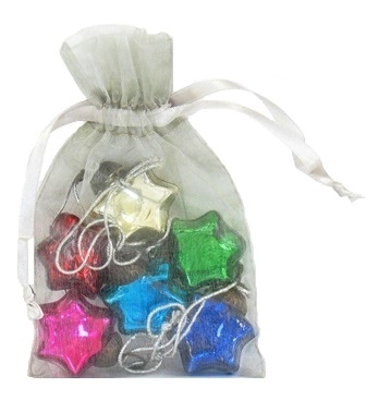 Mini Glass Star Ornament Gift Set