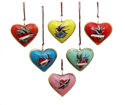 Mini Lovebird Ornament Assortment