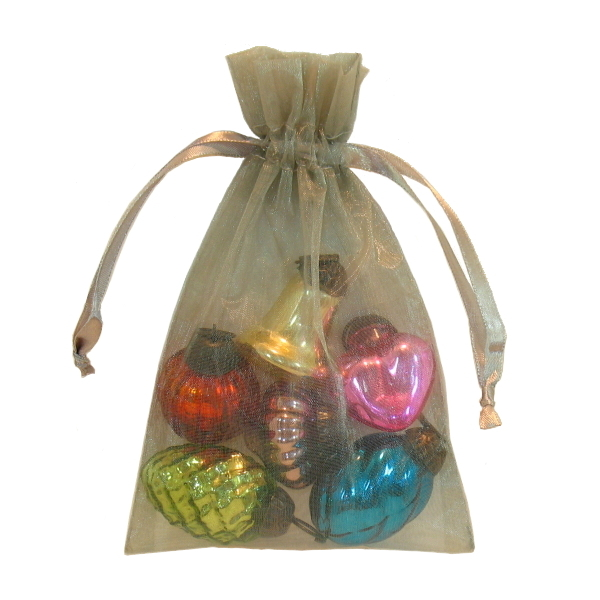 Mini Pastel Glass Ornament Gift Set