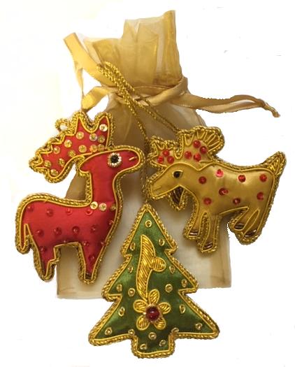 Moose-Deer-Tree Set/Bag