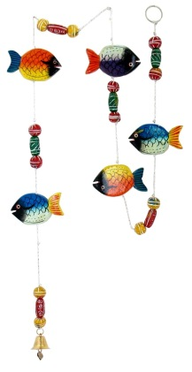 Fish String w/ Clay Beads