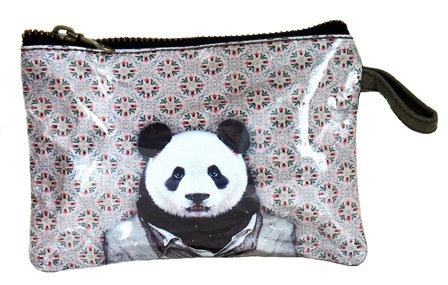 Panda Portrait Coin Purse