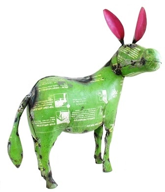 Recycle Metal Donkey