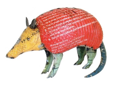 Recycled Armadillo