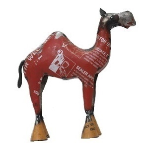 Recycled Metal Camel