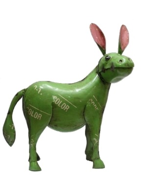 Recycled Metal Donkey