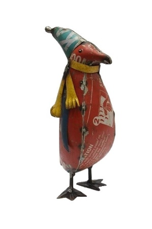Recycled Metal Penguin