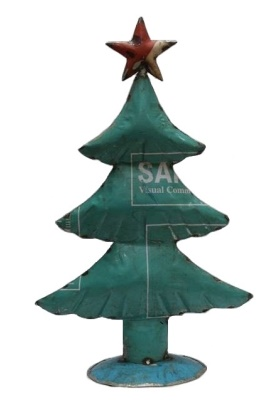 Recycled Metal Tree