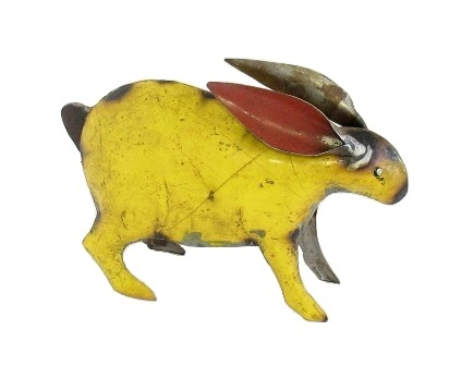 Recycled Yellow Jack Rabbit