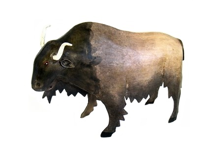 Recycled Metal Buffalo