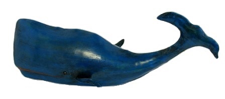 Recycled Metal Blue Whale