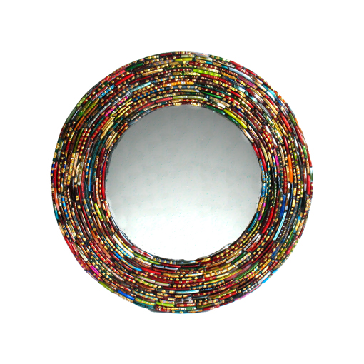 Round Bangle Frame Mirror