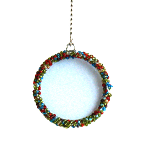 Round Photo Frame Ornament