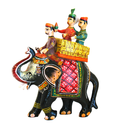 Royal Elephant With King And Queen