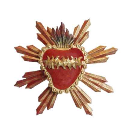 Sacred Heart Wallhanging