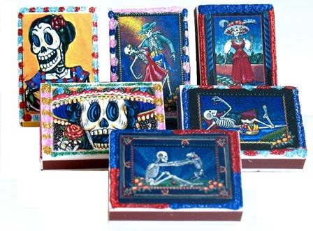 Skeleton Matchbox
