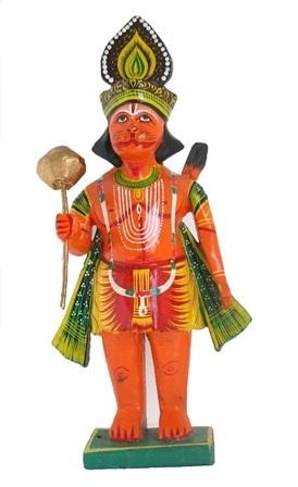 Sri Hanuman Standing Figure